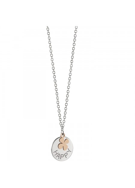 Collana donna Jack&co JCN0544 collana in argento 925 Happy